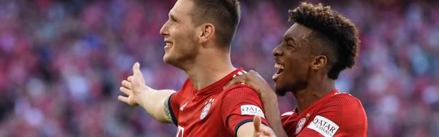 Niklas Süle (l.) ist gegen Bremen Bayerns Matchwinner