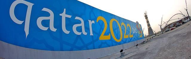 Katar 2022-Banner