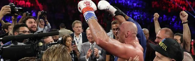 Tyson Fury besiegte Tom Schwarz in aller Klarheit