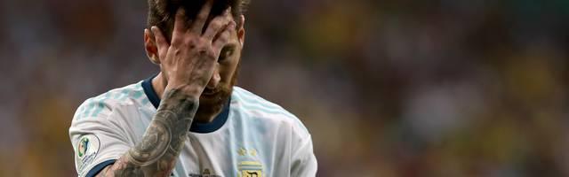 Lionel Messi verlor mit Argentinien das Eröffnungsspiel gegen Kolumbien