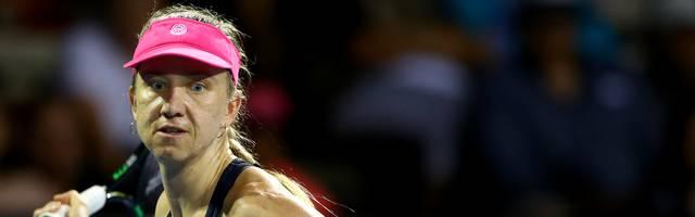 Mona Barthel durfte sich über einen Sieg gegen Jelena Ostapenko freuen
