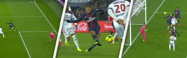 PSG - Guingamp (9:0): Alle Tore und Highlights im Video | Ligue 1