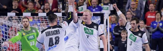 Germany v Iceland: Group 1 - 26th IHF Men's World Championship