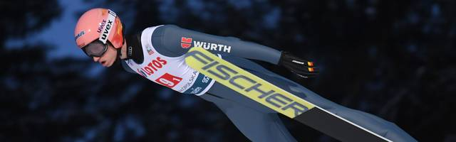 Karl Geiger gilt bei der Ski-WM als Medaillenkandidat
