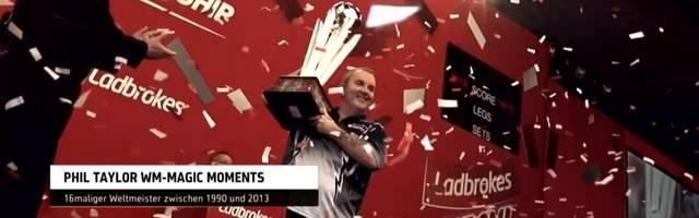 """Darts WM: Die größten WM-Momente von  Phil """"The Power"""" Taylor"""