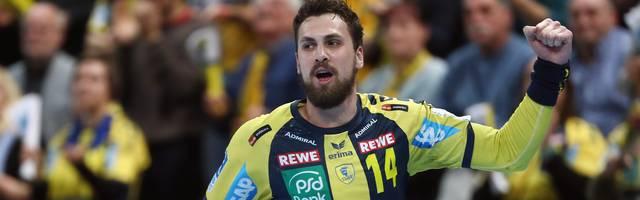 Bogdan Radivojevic war bester Werfer der Rhein-Neckar Löwen