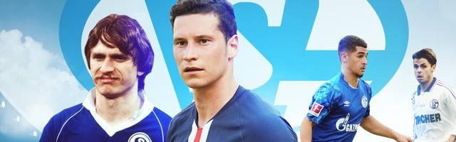 Julian Draxler (2.v.l.) gehört zu Schalkes jüngsten Debütanten