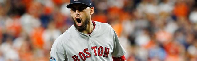 League Championship Series - Boston Red Sox v Houston Astros - Game Four