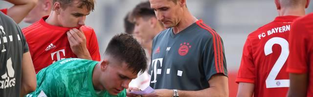 Miroslav Klose, U17-Trainer beim FC Bayern