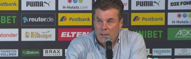 Gladbach: Dieter Hecking mit warnendem Trainer-Statement zum Abschied