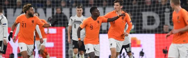 Nations League: Niederlande gegen England, Portugal gegen die Schweiz im Halbfinale, Die Niederländer haben in der Nations League das deutsche Team hinter sich gelassen