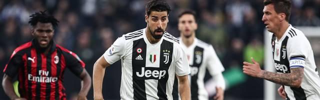 Sami Khedira spielt seit 2015 bei Juventus Turin