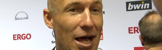 Arjen Robben sprach im Rahmen des Sport Bild-Awards über seinen Nachfolger Coutinho