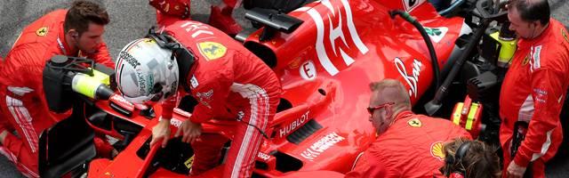 Sebastian Vettel kam in Brasilien nicht über Platz sechs hinaus