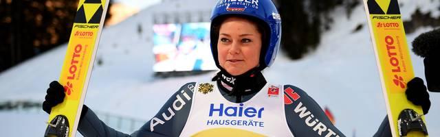 Skispringen: Olympiasiegerin Carina Vogt erleidet Kreuzbandriss, Carina Vogt wird die kommende Weltcup-Saison verpassen