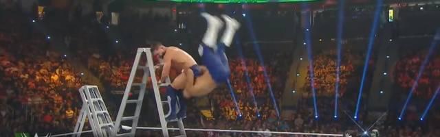 WWE Money in The Bank: Andrade und Finn Balor mit Mega-Stunt durch Leiter