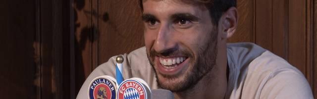 FC Bayern: Javi Martinez amüsiert sich über seinen besten Freund Sandro Wagner