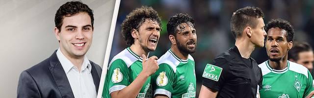 Die Elfmeterentscheidung im Pokal-Halbfinale zwischen Werder und Bayern erhitzte die Gemüter