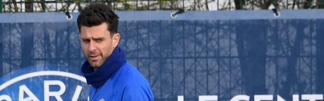 Thiago Motta trainiert die U19 von Paris St. Germain