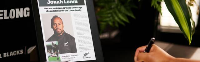 Kondolenzbuch für Jonah Lomu