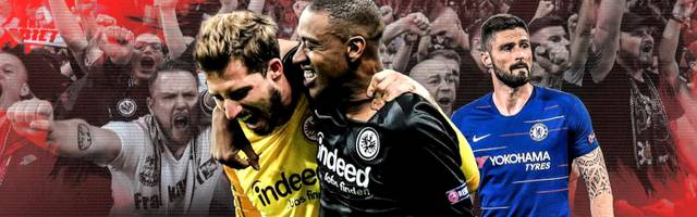 Eintracht Frankfurts langer Weg ins Halbfinale der Europa League