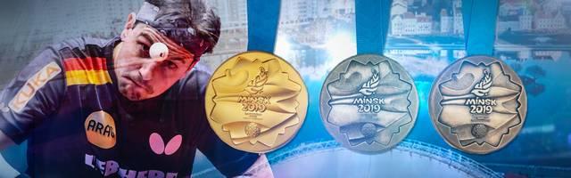 Timo Boll gewann in Minsk die Goldmedaille und schaffte die Qualifikation für die Olympischen Spiele 2020 in Tokio