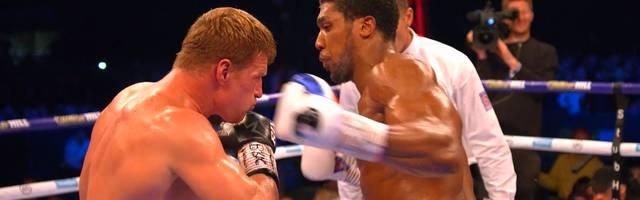 Anthony Joshua vs. Alexander Povetkin: Highlights und K.O. im Video | Boxen