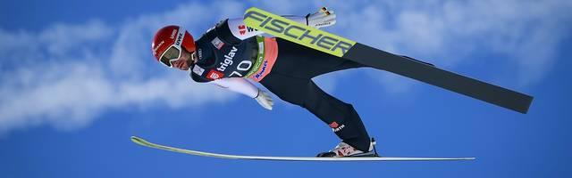 Markus Eisenbichler feierte in Planica seinen ersten Weltcupsieg