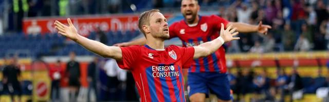 Maximilian Beister erzielte das Tor des Tages für den KFC Uerdingen