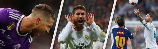 Die größten Aufreger von Real Madrids Kapitän Sergio Ramos