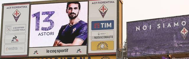 Davide Astori war Kapitän des AC Florenz
