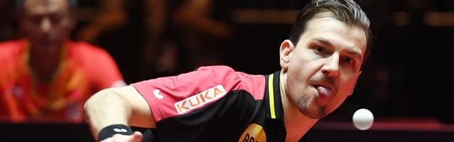 Timo Boll ist der Spitzenspieler von Borussia Düsseldorf