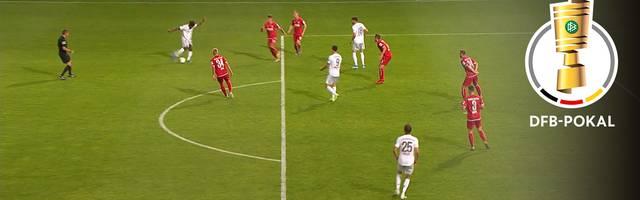 Energie Cottbus - FC Bayern München (1:3): Tore und Highlights | DFB-Pokal