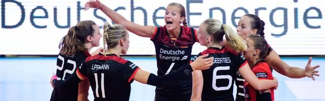Deutsche Volleyball-Frauen