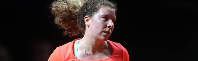 Anna-Lena Friedsam steht als einzige Deutsche im Viertelfinale des WTA-Turniers in Nürnberg