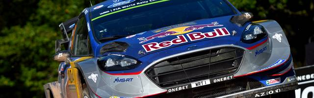 FIA World Rally Championship Germany - Day Two