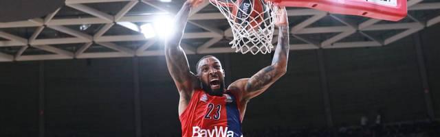 Derrick Williams war mit 17 Punkten bester Werfer der Bayern-Basketballer
