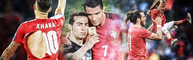 EM kurios: Trikot-Gate, Ronaldo-Selfie und Kinder auf dem Platz