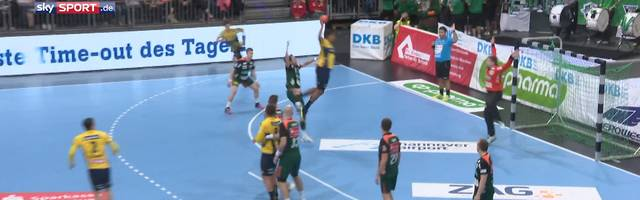 TSV Hannover-Burgdorf - Rhein-Neckar Löwn (28:30): Highlights im Video | HBL