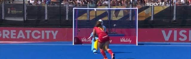 Hockey-WM-Halbfinale: Irland - Spanien: verrückteste Penalty der Geschichte