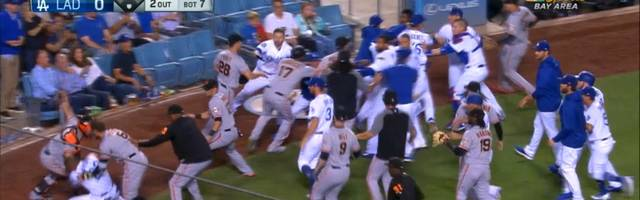 MLB: Schlägerei zwischen LA Dodgers und San Francisco Giants
