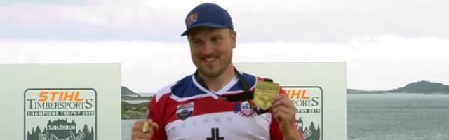 Die STIHL TIMBERSPORTS Champions Trophy