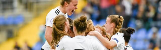 Die Deutsche U17-Nationalmannschaft der Frauen ist Europameister