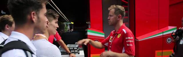 Sebastian Vettel gibt jungen Fahrertalenten Ratschläge