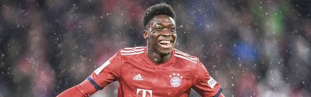 Alphonso Davies erzielt gegen Mainz seinen ersten Treffer