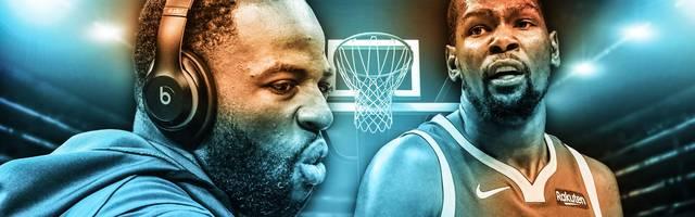 Kevin Durant (r.) und Draymond Green haben sich in der Umkleide der Golden State Warriors ein Wortgefecht geliefert