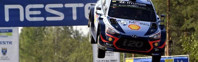 Der Belgier Thierry Neuville ist mit 87 weiteren Fahrern bei der Rallye Deutschland im August zu Gast im Saarland