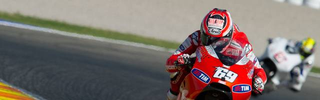 MotoGP - Testing Day One Nick Hayden ging insgesamt 218 Mal in der MotoGP an den Start und feierte  drei Siege