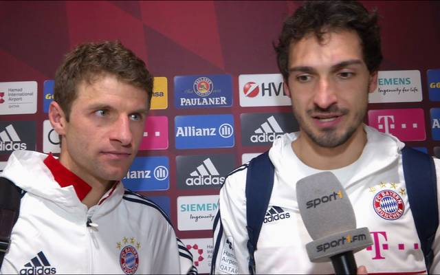 Thomas Müller (l.) und Mats Hummels äußerten sich am SPORT1-Mikrofon