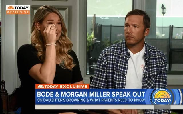 Morgan und Bode Miller durchleben den Tod ihrer Tochter erneut